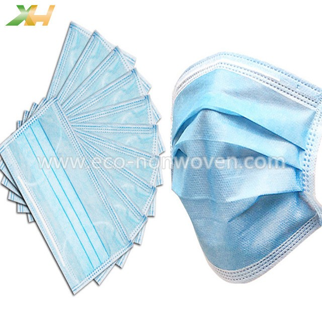 Colorful Nonwoven Material Protective Face Mask