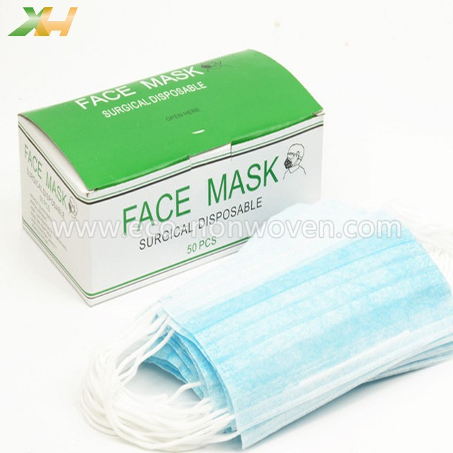 Good Quality Medical Surgical Disposable Nonwoven Face Mask