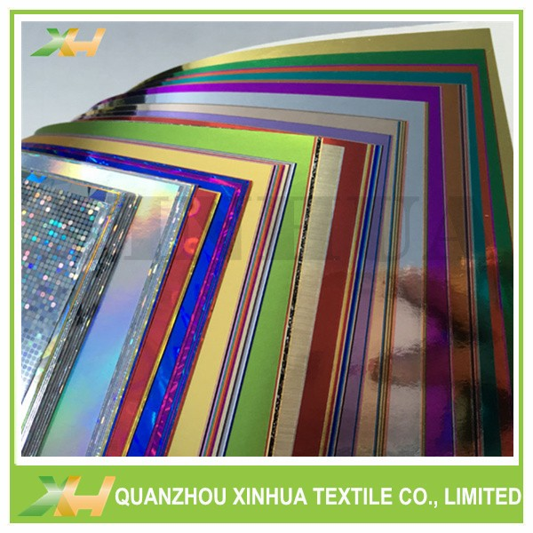 Hot Sell Metal Gold Color PET Laminated Nonwoven Fabric for Bags Making