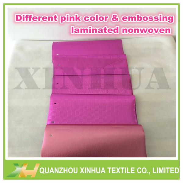 Pp Spunbond With Pe Film Nonwoven Fabric Laminated