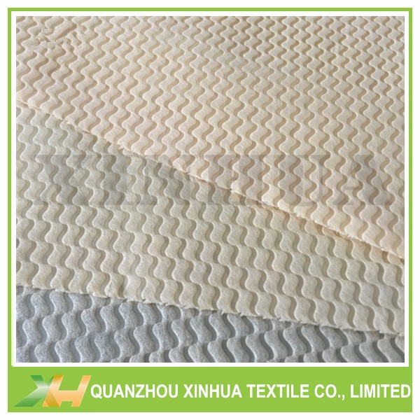 100% virgin pp spunbond wave emboss non woven china nonwoven embossed