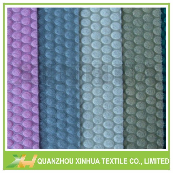 China Wholsale Bubble Dot PP Spunbond Non Woven Embossing Material
