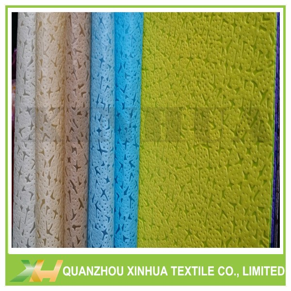 Leather Emboss PP Spunbond Nonwoven Fabric