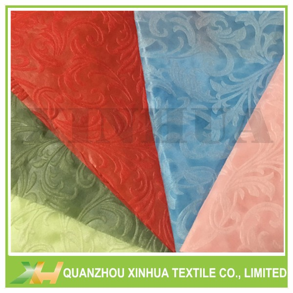 Moonflower embossed pp spunbonded non-woven for paacking,table cloth