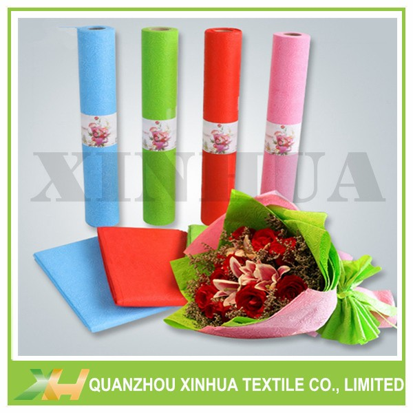 Newly Sunflower Embossing PP Spunbond Non Woven Cloth for Packing & Wrapping