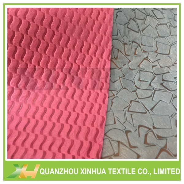 Newly Wave & Stone Embossing PP Spunbond Non Woven Cloth TNT Nonwoven Fabric