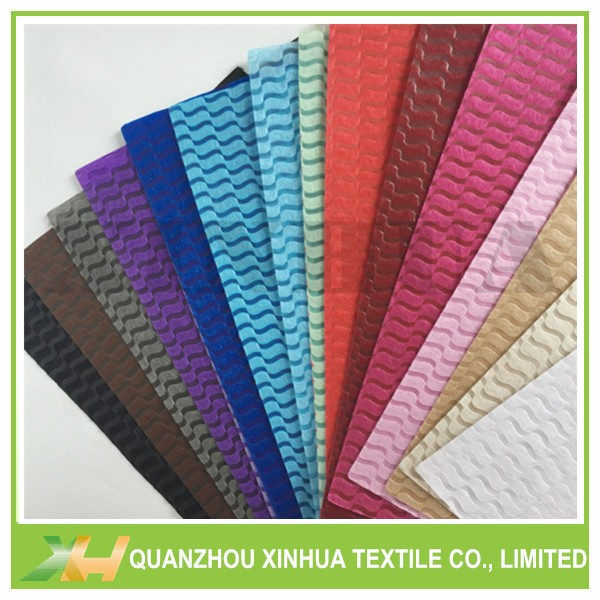 Newly Wave Emboss PP Spunbond Non Woven Cloth TNT Nonwoven Fabric