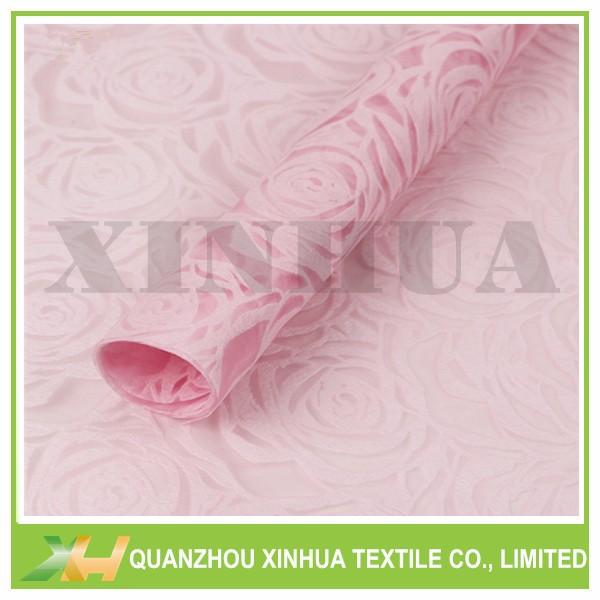 Sell 3D emboss rose flower nonwoven/ pp spunbond/ TNT non woven