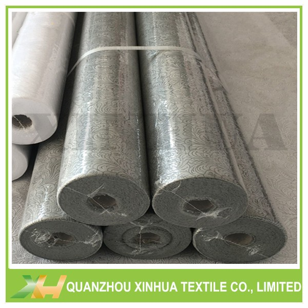 Silver Gold Color PP Spunbond Nonwoven Sunflower Embossing Non-woven