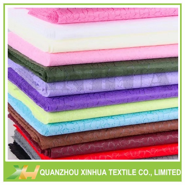 Stone pattern embossed flower wrapping packing pp nonwoven fabric