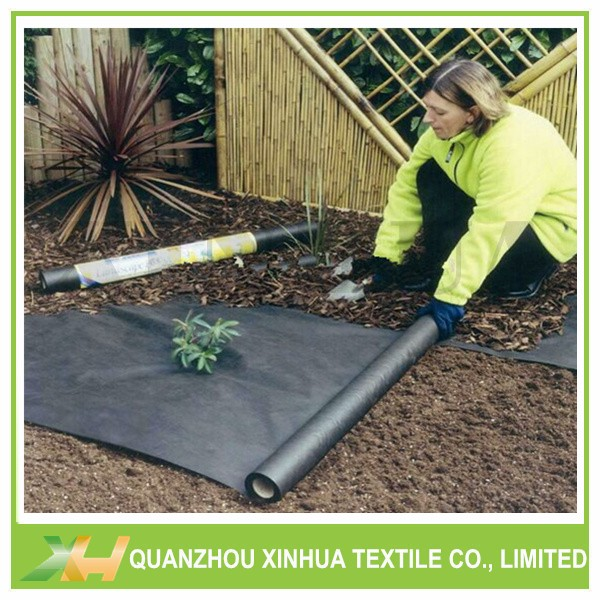 Black & White PP Nonwoven Fabric For Plant Cover