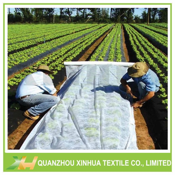 UV resistant non woven agriculture fabric