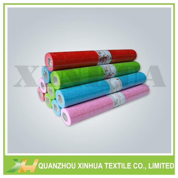 Fashion Emboss TNT Non Woven Fabric Rolls for Flower Packing