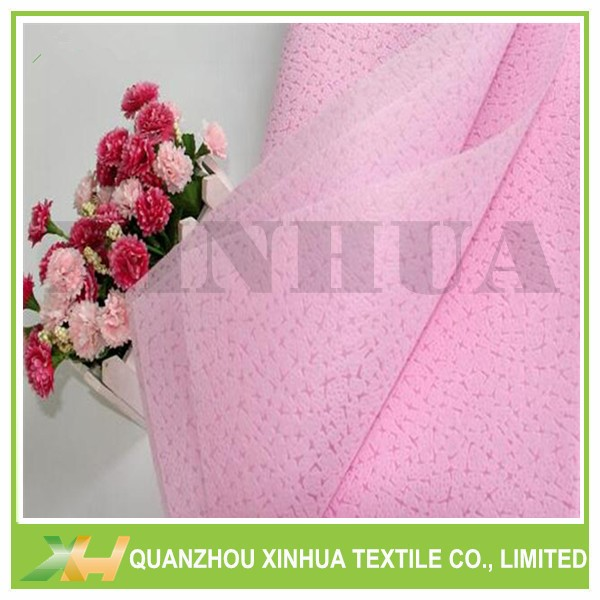 Leather Emboss PP Spunbond/ TNT Nonwoven for flower
