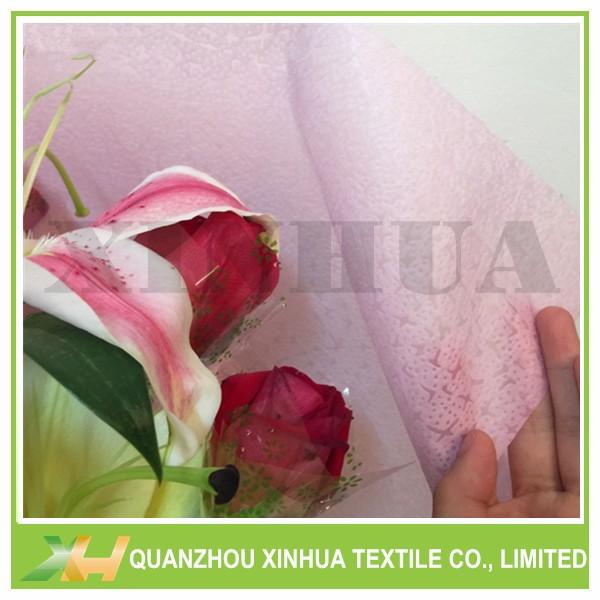Leather Emboss PP Spunbond/ TNT Nonwoven for flower