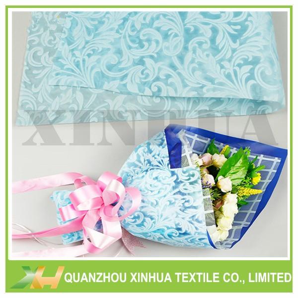 Moonflower Emboss PP Spunbonded TNT Flower Wrap Non Woven Sheets