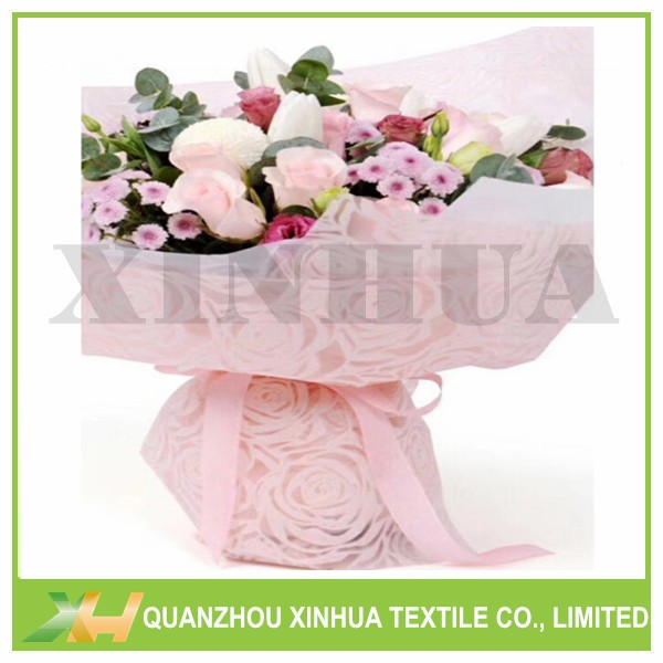 Newly Circle Emboss PP Spunbond/ TNT Nonwoven Fabric for Flower Wrapping
