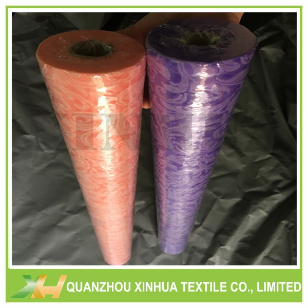 Newly Embossed PP Spunbond/ TNT Non Woven Rolls for Flower Wrapping