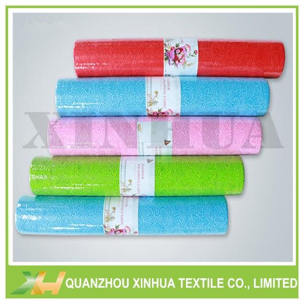 Sunflower Emboss TNT PP Spunbond Non Woven Fabric for Flower Wrapp & Gift Pack