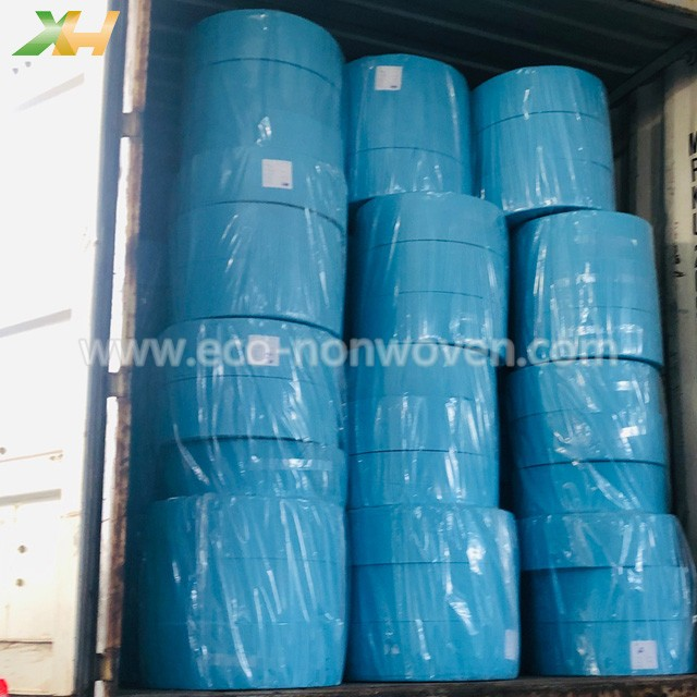 100 PP Spunbonded Raw Material Face Mask Non Woven Factory