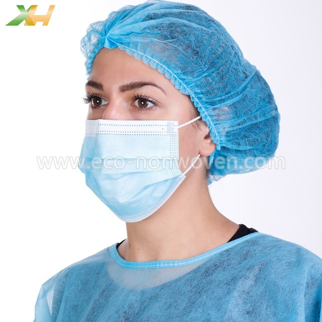25G 17.5CM Width PP Non Woven for 3Ply Disposable Nonwoven Medical Face Mask