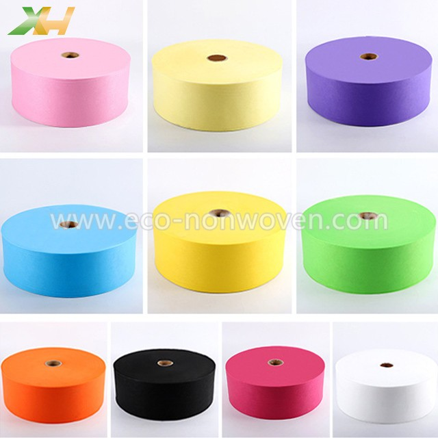 High Quality 3-ply Disposable Colorful Non-woven Face Mask Material