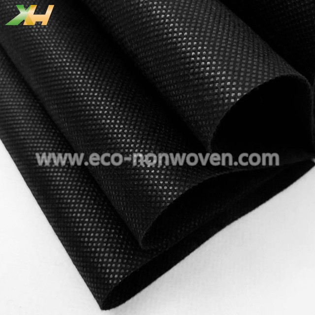 Hot Selling PP Spunbond Fabric Black Nonwoven for Face Mask