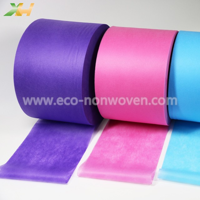 Medical Light Blue, Pink, Purple Color PP Spunbond Non Woven for Face Mask