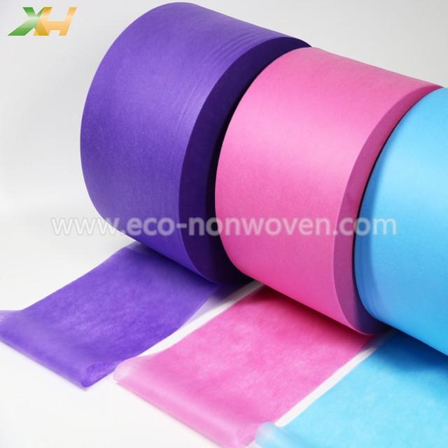 Medical Light Blue, Pink, Purple Color PP Spunbond Non Woven for Face Mask