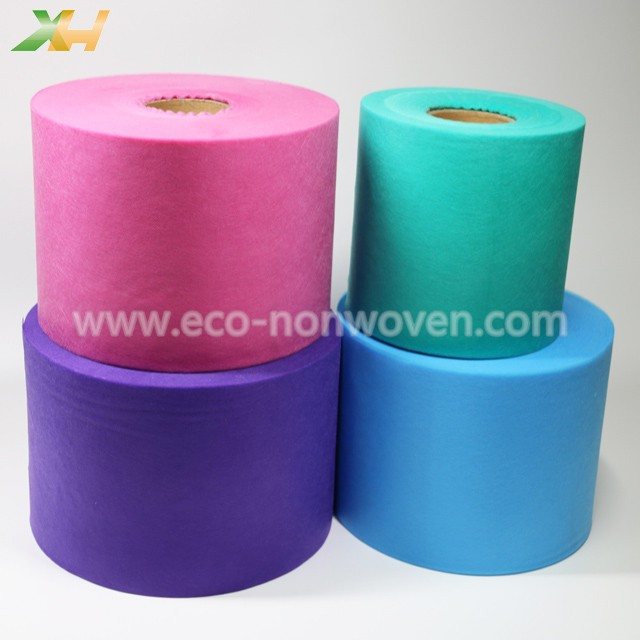 Skin-friendly Polypropylene PP Spunbond Color Non Woven for Face Mask 3Ply