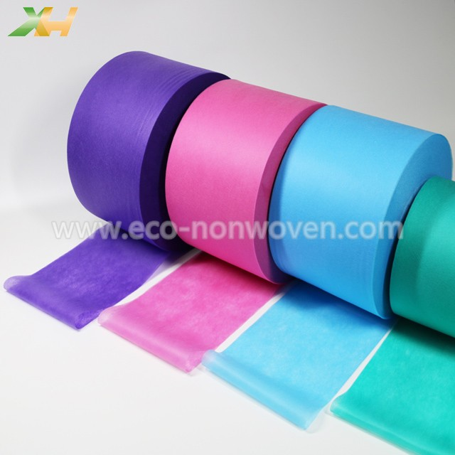 Vivid Colorful PP Spunbonded Nonwoven for Face Mask 25gsm