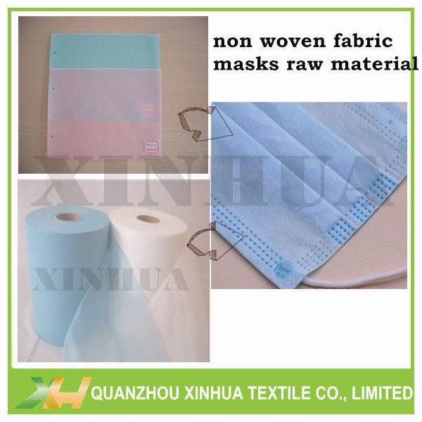 Blue Pink Medical Nonwoven PP Spunbond