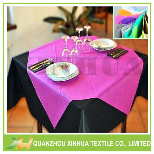 Colorful TNT Tablecloth Nonwoven Fabric Small Roll