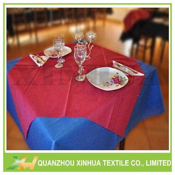 Cut Piece 45/50/60gr Nonwoven Tablecloth For Restu
