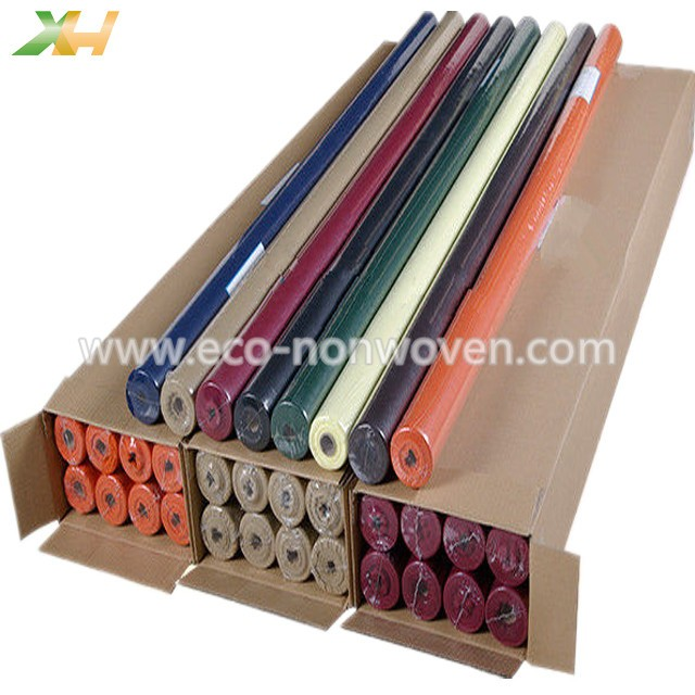 Disposable PP Spunbond Nonwoven Tablecloth Roll