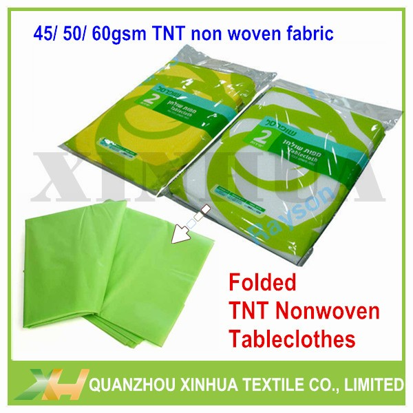Disposable PP Spunbond Nonwoven Tablecloth Roll 60
