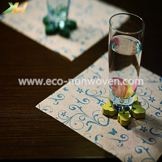 Disposable cheap prices colors pp spunbond non woven placemats
