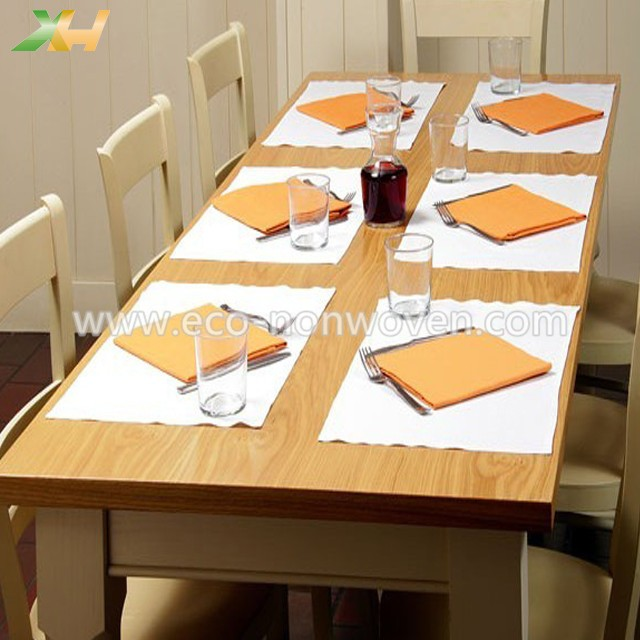 Disposable cheap prices pp spunbond non-woven placemat