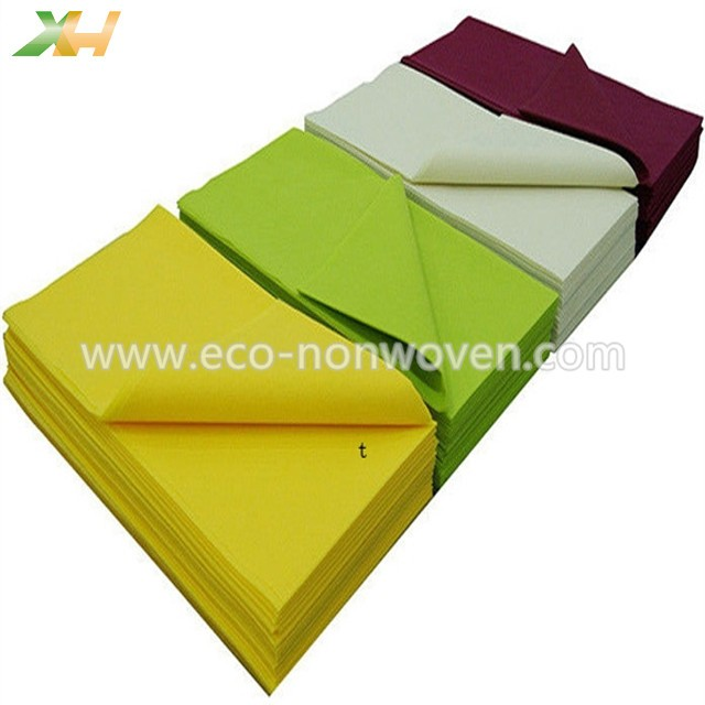 Factory supply colorul tnt non woven fabric tablecloth