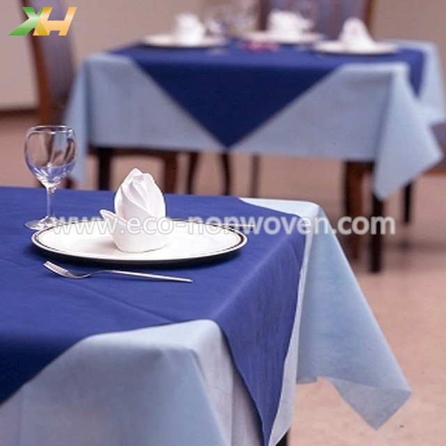 Hotel Restaurant PP Spunbond Nonwoven Tablecovers
