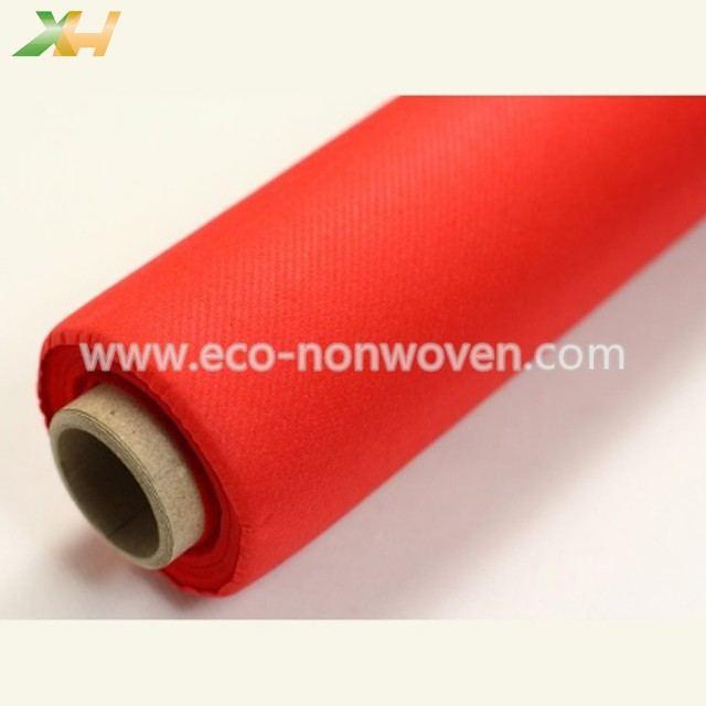 Multi Color 30-80g PP Spunbond Nonwoven Table Roll