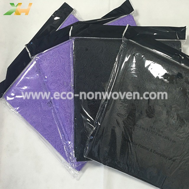 Newly Sunflower Emboss PP Spunbond Nonwoven Tablecloth