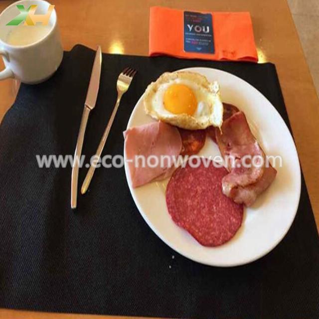 Precut pp spunbond non woven tablecloth for Spain market