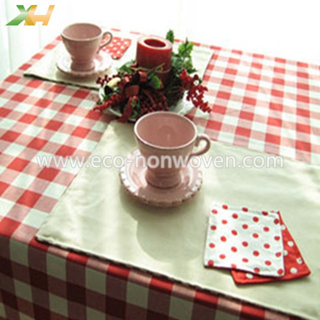 Printed TNT Non Woven Table Cover Tablecloths