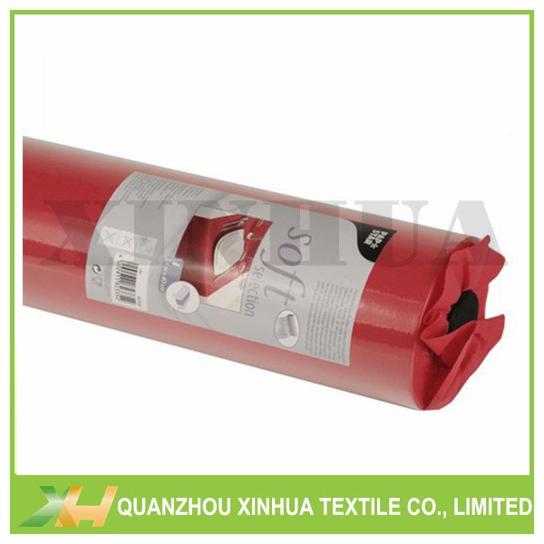 Red PP Spunbond Non Woven Table Covers Rolls