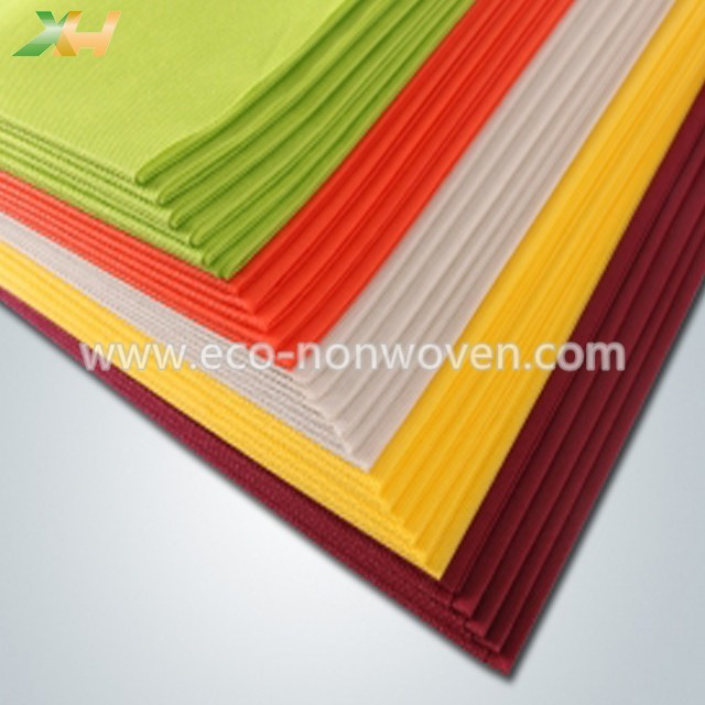 Round PP Spunbonded TNT Non Woven Tablecloth, Nonwoven Table Runner