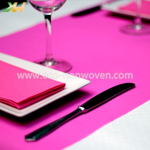 TNT non-woven placemat, pp non-woven table cloth