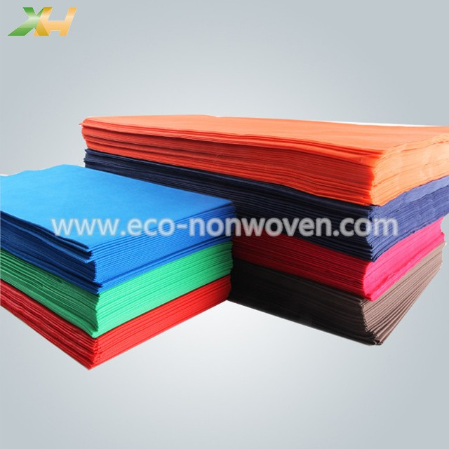 Xinhua textile supply pp spunbond tnt nonwoven table cover