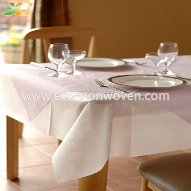 cheap PP spunbond nonwoven tablecloth