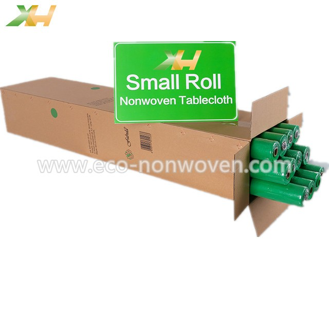 green pp spunbond nonwoven table rolls